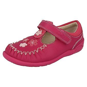 Mädchen Clarks ersten Schlepplift Schuhe Litzy Lou