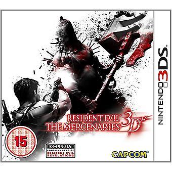 Resident Evil spelet legosoldater 3D Nintendo 3DS