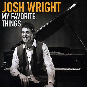 Josh Wright - My Favorite Things [CD] USA import