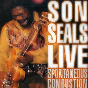 Son Seals - import USA samozapalenie [CD]