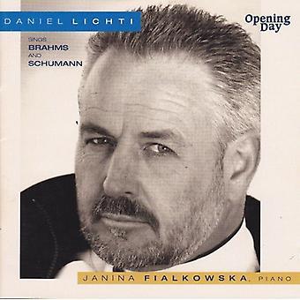 Daniel Lichti - Daniel Lichti Sings Brahms and Schumann [CD] USA import