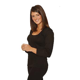 Femei OCTAVE/femei lenjerie termică cu mânecă lungă tricou/vestă/top