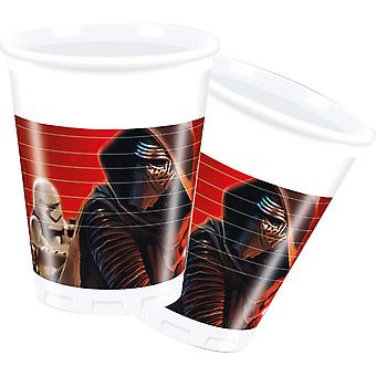 Star Wars halbă 200ml copii Party 8 St forța trezește ziua de naștere a copiilor