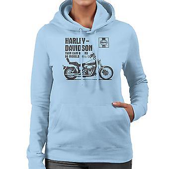قميص من النوع الثقيل مقنعين هاينز أصحاب حلقة العمل اليدوي 2478 هارلي ديفيدسون التوأم كام 88 ND للمرأة