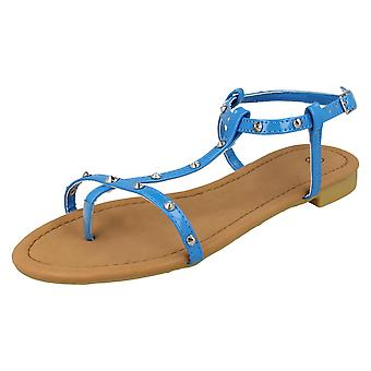 Ladies Unbranded Slingback Toe-Post Sandals