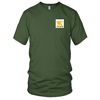 US Army - 6th fältet artilleriregemente broderad Patch - Mens T Shirt