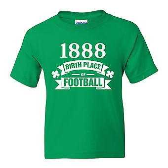 Celtic Birth Of Football T-shirt (Green)