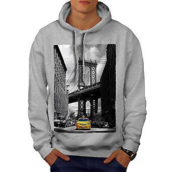 بروكلين جسر الرجال رمادي هوديي   ويلكودا