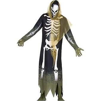 Herren Kostüme Männer Halloween Kostüm Skelett Reaper