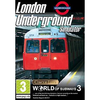 Simulateur de métro de Londres - World of Subways 3 (Pc CD) - Nouveau
