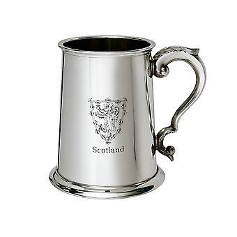 Leeuw van Schotland Pewter Tankard - 1 pint