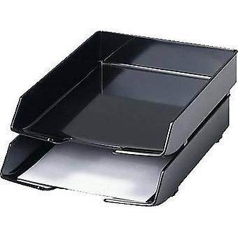 HAN 1028-13 WAVE EXCLUSIV Letter tray A4, C4 Black 1 pc(s)