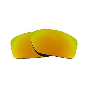 SeekOptics Replacement Lenses for Oakley Valve Asian Fit Polarized Gold Mirror UV400