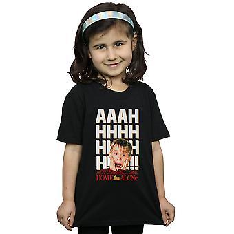 Nach Hause alleine AAAH Fett T-Shirt für Mädchen
