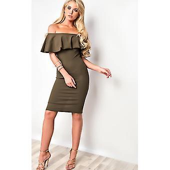 IKRUSH Womens Kiara figurbetonten Kleid