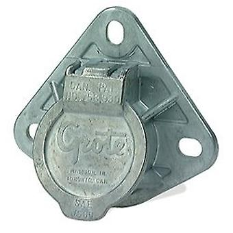 Grote 87220 Ultra-Pin Receptacle Three-Hole Mount (Receptacle Only Split Pin)