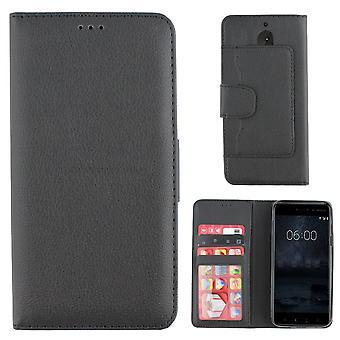 Colorfone Nokia 8 Geldbörse Beutel (schwarz)