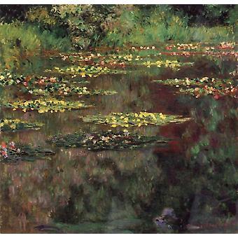 Water-Lilies,Claude Monet,50x50cm