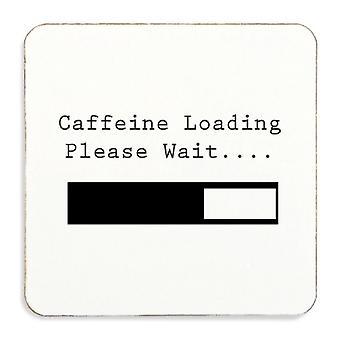 Cafeïne Loading Please Wait Cork Coaster