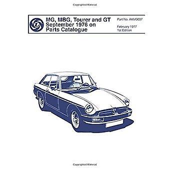 MGB, Tourer & GT settembre 1976 il catalogo ricambi