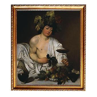 Met RAM Bacchus, Caravaggio, 61x51cm
