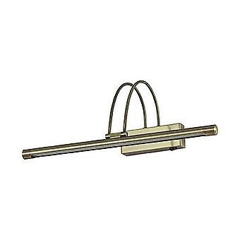 Ideal Lux - Bogen Messing antik mittlere LED Bild leichte IDL121161