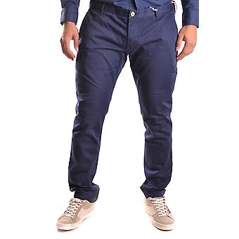 At.p.co Ezbc043010 Men's Blue Cotton Pants