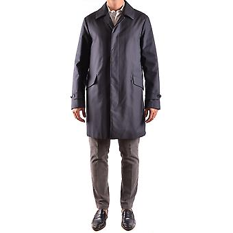 Allegri Ezbc097004 Men-apos;s Blue Polyester Trench Coat