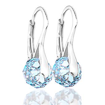 Women's Stunning Briolette Round Crystals From Swarovski® Earrings