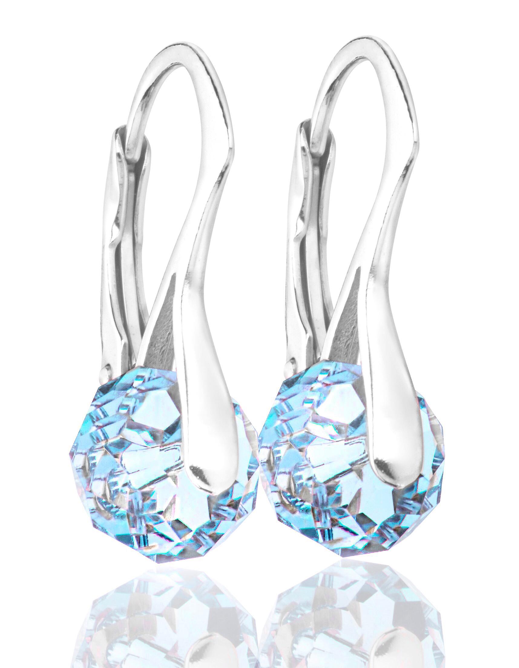 Women's Stunning Briolette Round Crystals From Swarovski® Earrings