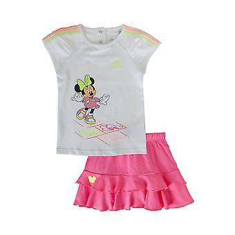 Adidas Disney Mini Infant Girls Set T-Shirt and Skirt S22057