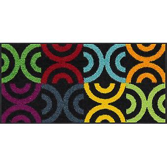 Salon lion mini doormat Borrby colorful washable