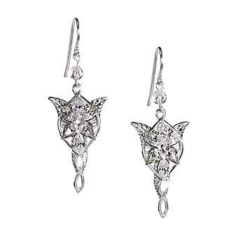 Lord of the Rings Arwen Evenstar Sterling Silver Earrings