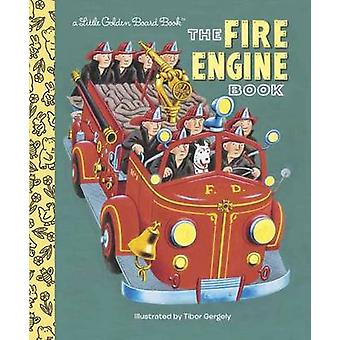 Fire Engine Book by Tibor Gergely - Golden Books - 9780553522242 Book