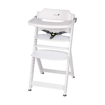 Seguridad 1a Timba Madera Highchair Blanco