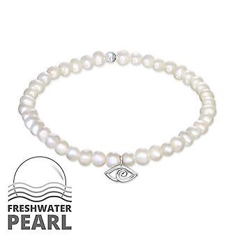 Mau-olhado - pulseiras de corrente prata esterlina 925 - W33147x