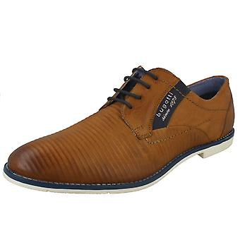 Mens Bugatti Stylish Lace Up Shoes 313-11117-3500