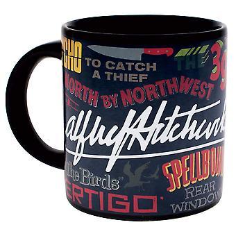 Krus-Alfred Hitchcock citater-kaffekop ny 5360