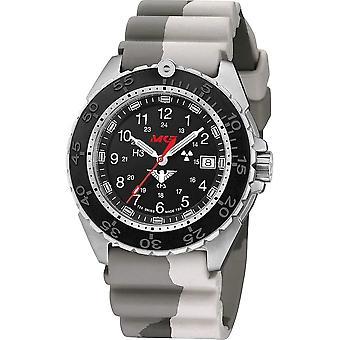 KHS Wristwatch الرجال المنفذ الصلب CR مع غواص B. كام. البيج KHS. ENFSCR. DC5