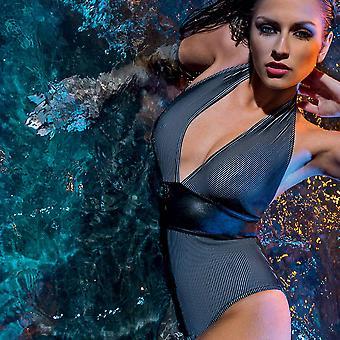 Nicole Olivier Swimwear swimsuit Best Black 5115