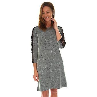 POMODORO Pomodoro Grey Dress 31958