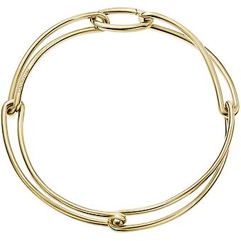 Calvin Klein Unified Gold PVD Stainless Steel Choker Necklace KJ9QJJ100100