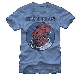 It's a Trap Admiral Ackbar Star Wars Men's T-Shirt