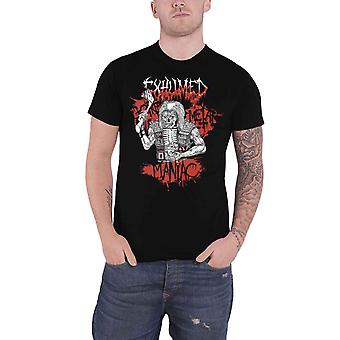 Exhumed T Shirt Gore Metal Maniac Band Logo new Official Mens Black
