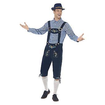 Mens Rutger bávara vestido extravagante, traje