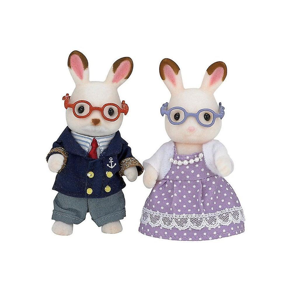 Sylvanian Families 5190 Chocolate Rabbit Grandparents
