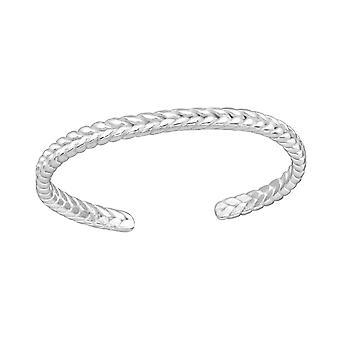 Treccia - 925 Sterling Silver Toe Ring - W38064X