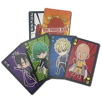 Playing Cards - One Punch Man - Sd 1 Characters New Licensed ge51632