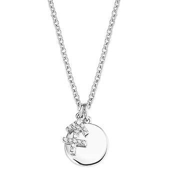 s.Oliver Jewel Damen Kette Halskette Silber 2026958 Sternzeichen Schütze