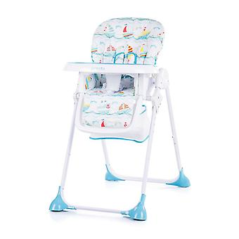 Chipolino High chair Presto, backrest and height adjustable, seat belt
